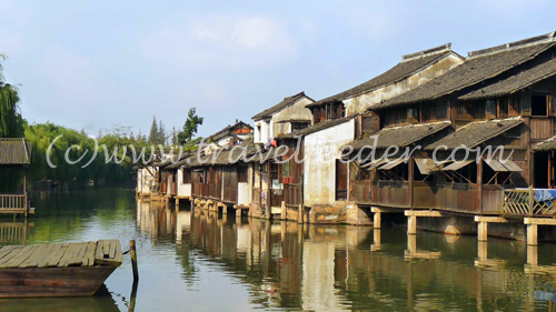 Wuzhen water village of China