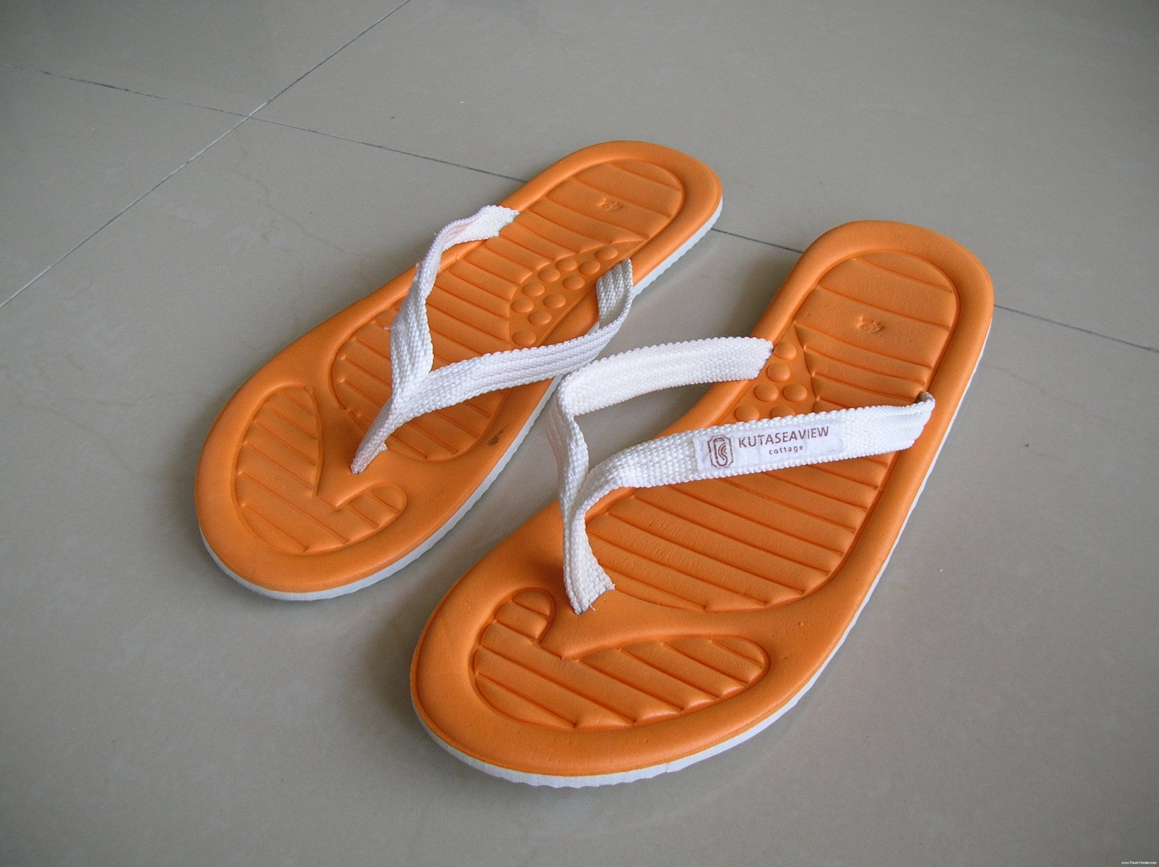 Slippers From Kuta Seaview Cottage