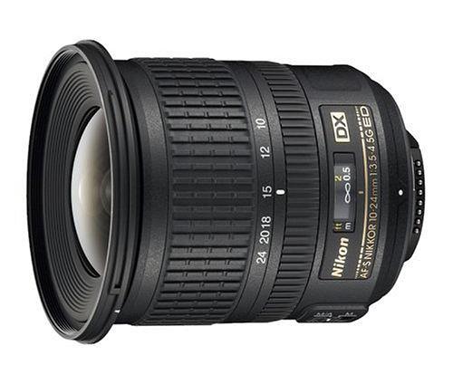 Nikkor 10-24mm UWA lens