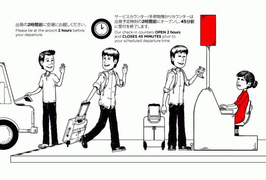 ご搭乗に際しての重要なお知らせ Important flight reminders