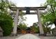 Torii of Shinto Shrine in Kyoto