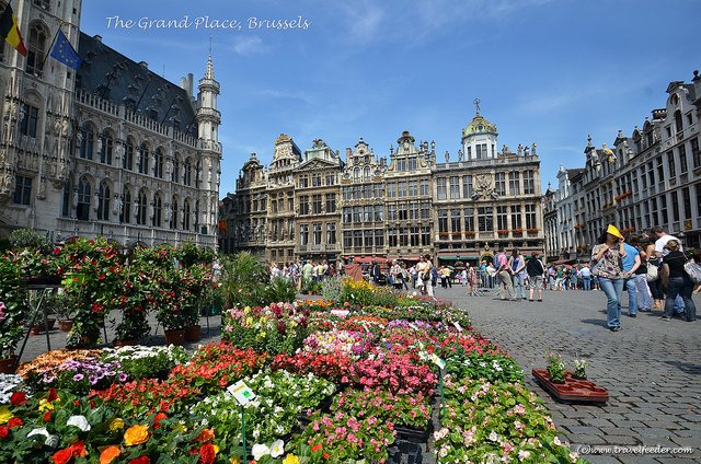 Europe travel in Brussels