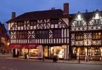 The high street in Stratford Upon-Avon