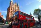 St Pancras n red Bus