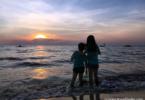 Sunset Scene in Port Dickson