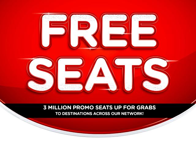 Airasia free seat promotion 2017