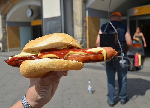 Travel photos - Mobile Bratwurst in Berlin