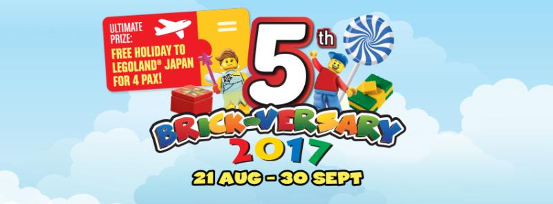 Legoland Malaysia 5th Anniversary celebration