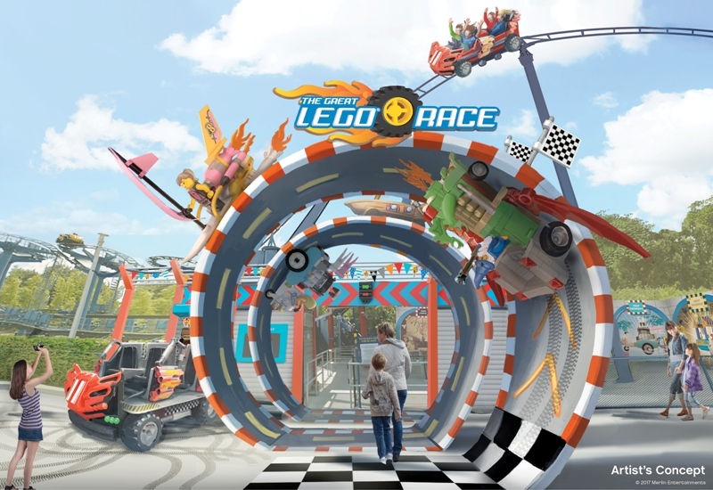 LEGO Virtual Reality Roller Coaster
