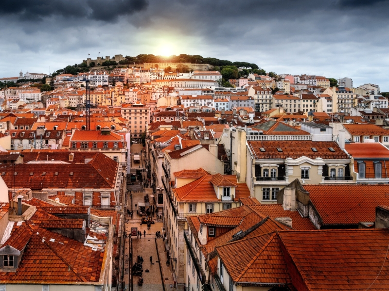 Europe During Winter to Lisbon